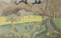 Landscape, 1912 Fine Art Print