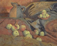Still Life: Apples And Pitcher, 1912 Fine Art Print