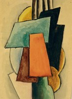 Study For Painterly Architectonis, 1916 Fine Art Print