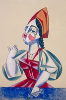 The Priest'S Daughter, 1920 Fine Art Print