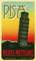 Hoel Nettuno, Pisa Italy Fine Art Print