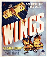 Wings Movie Poster Fine Art Print