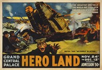 Hero Land, WWI Movie Poster Framed Print