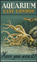 Aquarium, East-London Fine Art Print
