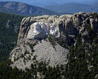 Aerial View, Mount Rushmore Fine Art Print