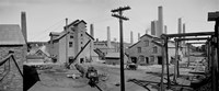 Calumet and Hecla Smelters Fine Art Print