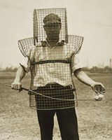 Mouse-trap Armor for Caddies Fine Art Print