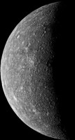 Planet Mercury, March 24, 1974 Framed Print