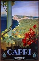 Capri Italia Framed Print