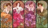 Topaz Ruby Amethyst Emeraude Fine Art Print