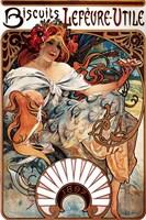 Biscuits Lefevre-Utile Fine Art Print
