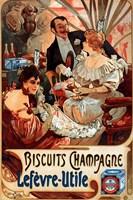 Biscuits Champagne Lefevre-Utile Fine Art Print