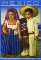 Botero Mexico Framed Print
