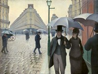 Caillebotte, Paris Street, A Rainy Day Fine Art Print
