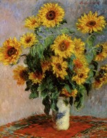 Bouquet of Sunflowers Fine Art Print