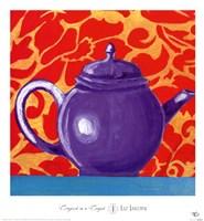 Tempest in a Teapot I Fine Art Print