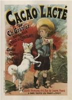 Cacao Lacte France Fine Art Print