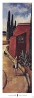 La Casa Vermella Framed Print