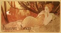 Sunset Soap Fine Art Print