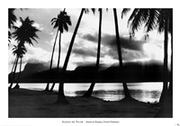 Sunset at Raiatea, French Polynesia Fine Art Print
