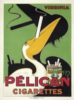 Pelican Cigarettes Fine Art Print