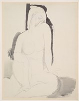 Seated Nude Fine Art Print
