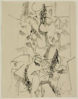 Seated Nude Fine Art Print