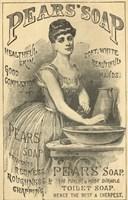 Pears Soap Washbowl Fine Art Print