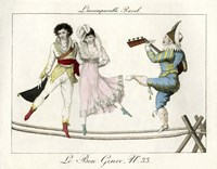 Tightrope Walkers French Fine Art Print