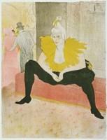 La Clownesse Assise From Elles Fine Art Print