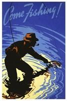Come Fishing Fine Art Print
