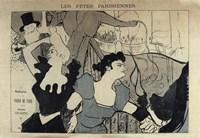 Les Fetes Parisiennes Fine Art Print
