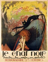 Le Chat Noir 2 Fine Art Print