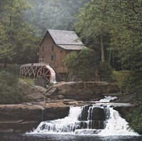 Glade Creek Mill Fine Art Print