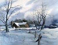 Winter White Fine Art Print