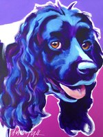 Cocker Spaniel Dixie Fine Art Print