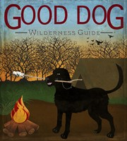 Good Dog Wilderness Guide Fine Art Print
