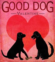 Good Dog Valentine I Fine Art Print