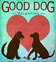 Good Dog Valentine II Fine Art Print