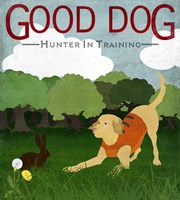 Good Dog Hunter In Training II Fine Art Print