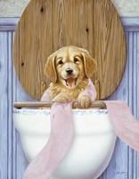 Toilet Mischief Fine Art Print