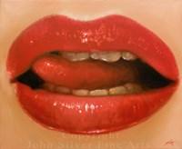 Lips 2 Fine Art Print