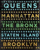 Boroughs 1 Framed Print