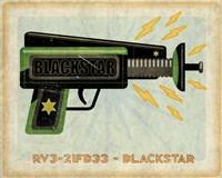 Blackstar Ray Gun Framed Print