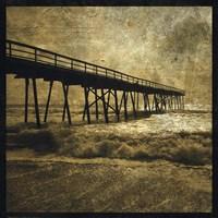 Ocean Pier No. 3 Framed Print