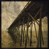 Ocean Pier No. 1 Framed Print