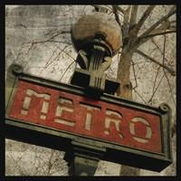 Metro II Framed Print