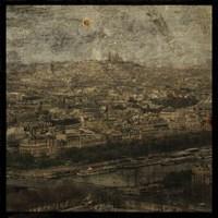 Paris Skyline II Framed Print