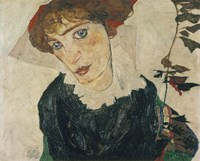 Portrait Of Wally, 1912 Fine Art Print
