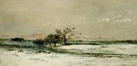 Winter, 1873 Fine Art Print